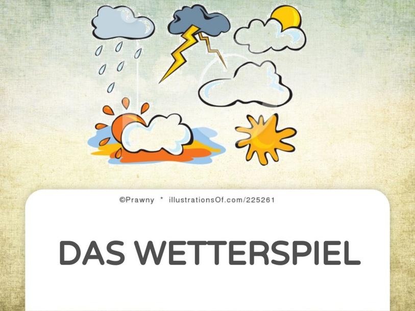 DAS WETTERSPIEL by Deisi Flesch Pupo