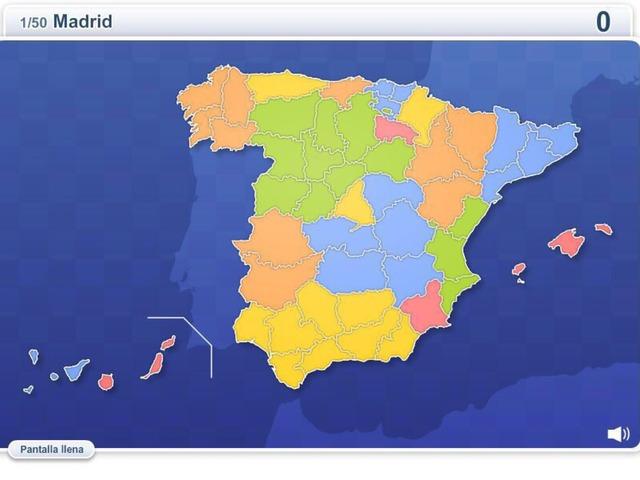 Provincias De España by Blanca Lopez Cediel