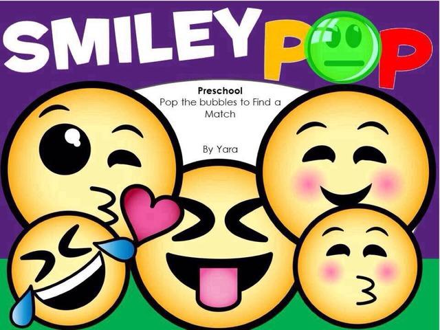Smiley Pop Visual Discrimination Preschool by Yara Habanbou