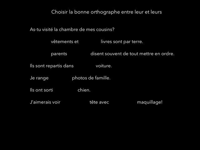 Orthographe Ceinture Noire by Mon Sieur
