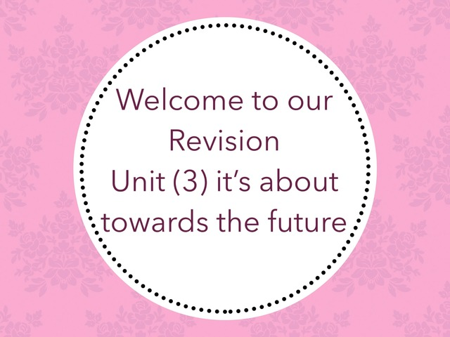 Unit (3) by lots salm