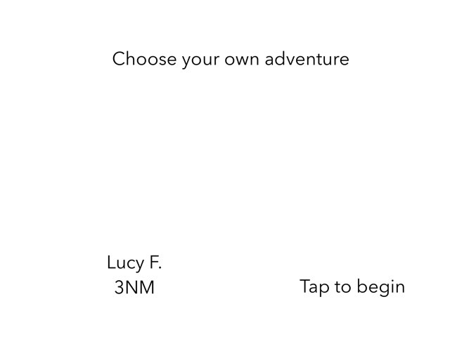 Lucy F. Choose Your Own Adventure  by 3NM iPad