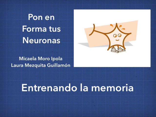 Entrenando la memoria by Micaela Moro