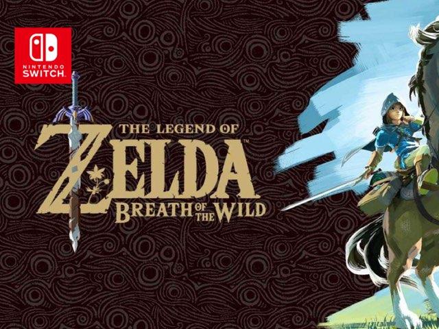 Nintendo Switch - The Legend Of Zelda : Breath Of The Wild by Nintendo Inc.