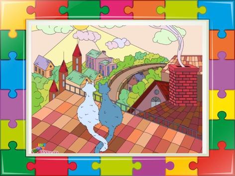 The Cat Puzzle  2 by Liat Bitton-paz