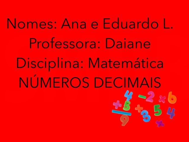 Ana E Eduardo L Turma 54 by Rede Caminho do Saber
