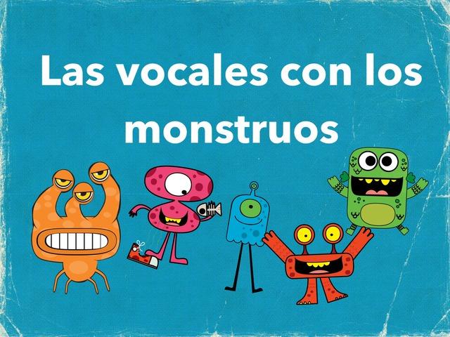 Las Vocales  by Maia TinyTap