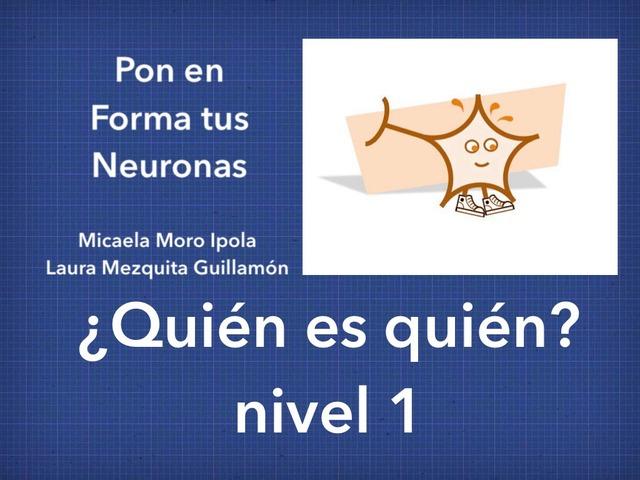 PETN ¿Quien es quién? (I) by Micaela Moro