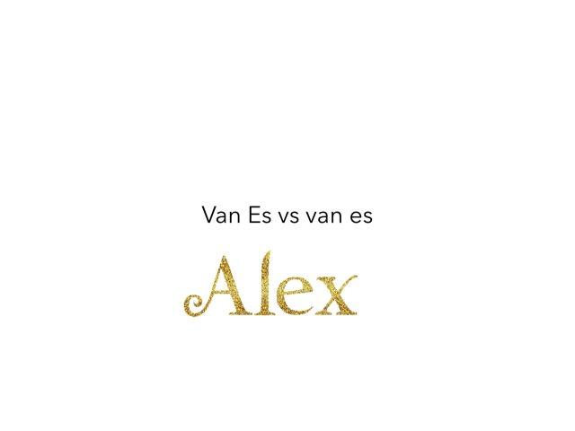 Game 2 by Alex van Es