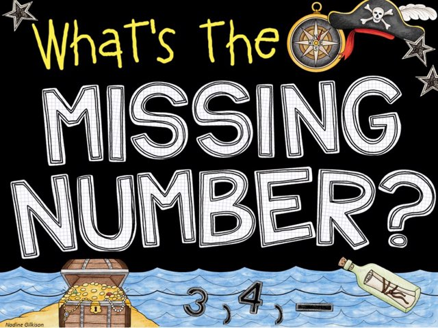 Missing Number 1-30 by Nadine Gilkison