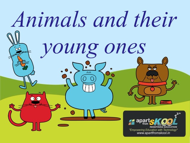 Animals & Their Young Ones by TinyTap creator