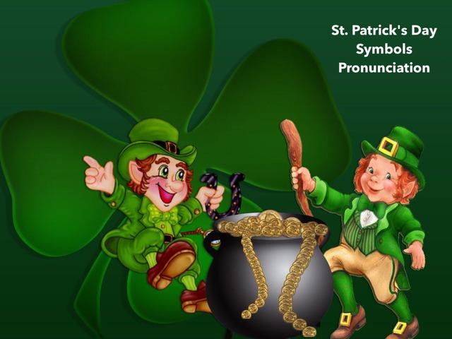 st patrick's day symbols -pronunciation by Teeny Tiny TEFL