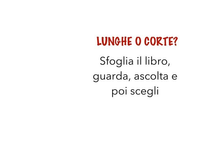 LUNGHE O CORTE? by Liboria Pantaleo