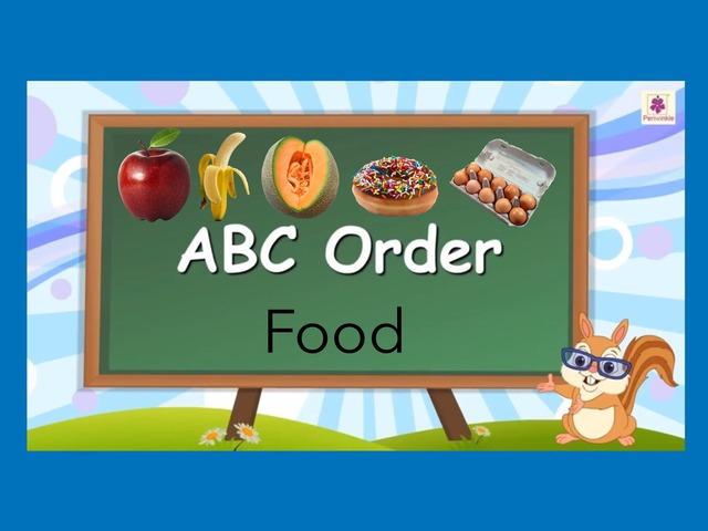 ABC Order: Food by Carol Smith