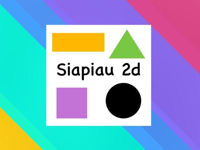 Siapiau 2d by Heledd Owain