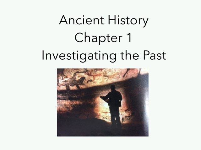 Ancient History - Chapter 1 by Casey Sentz