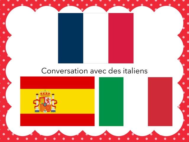 Conversation Avec Des Italiens by Eduardo MB