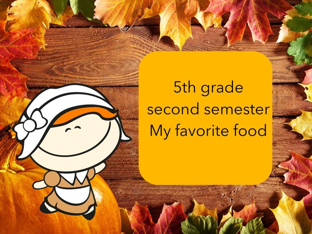 5th Year Second Semester Food by Maramy Rashid