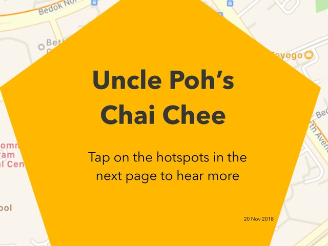 Uncle Poh's Chai Chee by Moses Sia