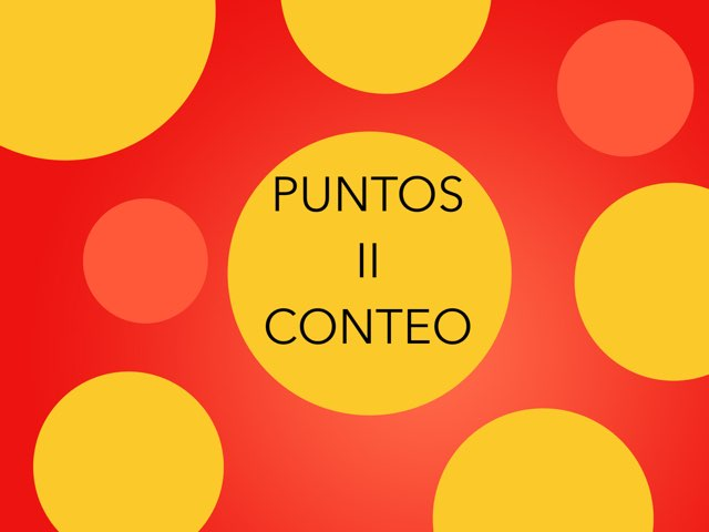 PUNTOS II (CONTEO) by Mayte Jerez