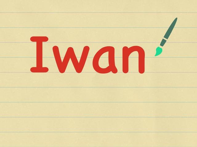 Iwan  by Sue wilson