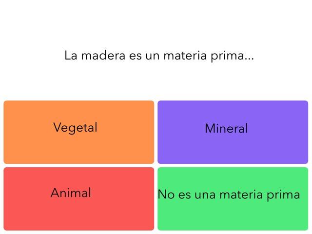 Los Materiales by Marisa Romay Benedicto