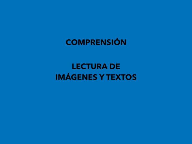 Comprensión. Lectura De Imágenes Y Textos by Francisca Sánchez Martínez