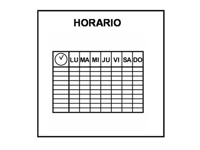 El Horario by Francisco Esteve