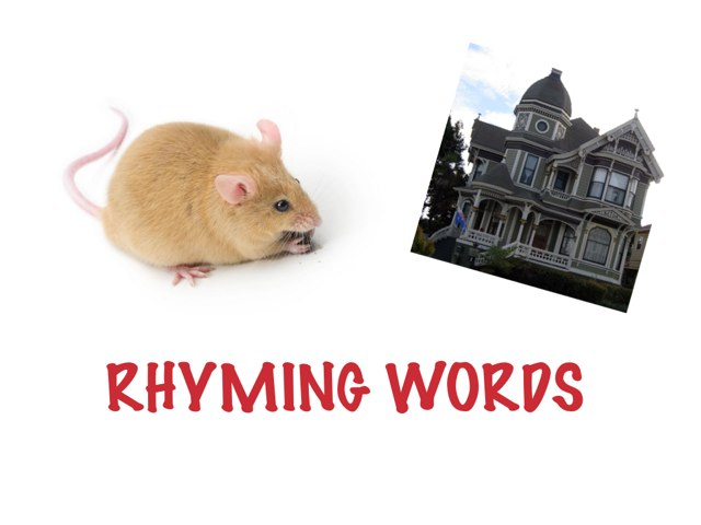 Rhyming Words by Helen Smith