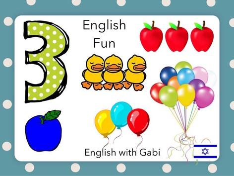 English  Fun by English with Gabi אנגלית עם גבי