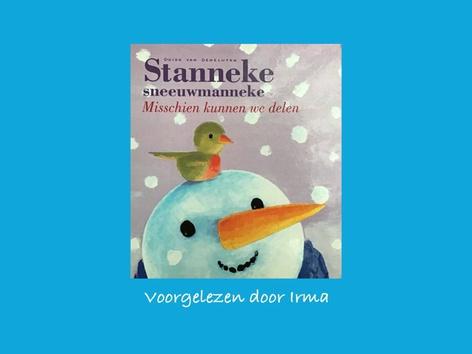 Stanneke sneeuwmanneke by Nelleke Lürsen