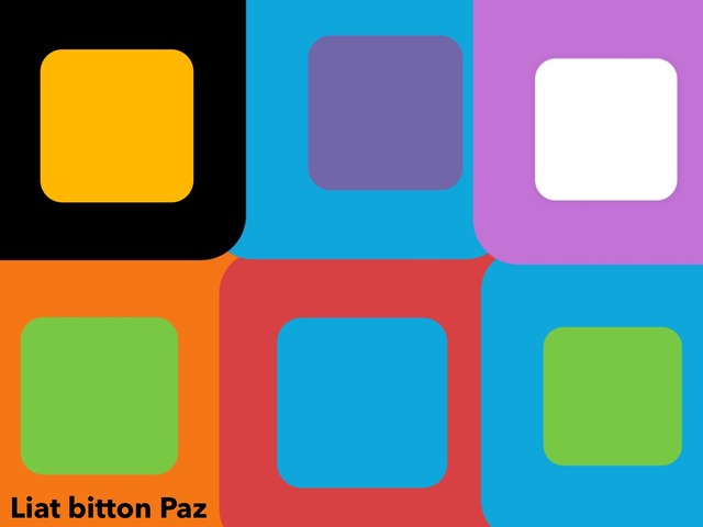 Square Puzzle  by Liat Bitton-paz