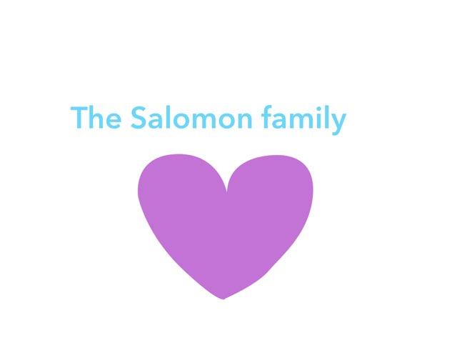 משפחת סלומון by שגית סלומון