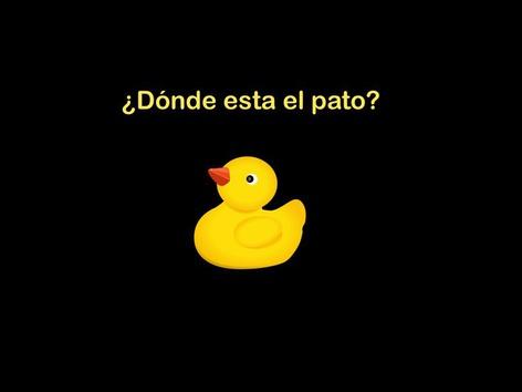 CVI: ¿Dónde Esta El Pato? Version2 by Eunice Ramirez