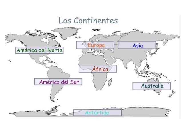 Ubicar los continentes by Emily Urquizo