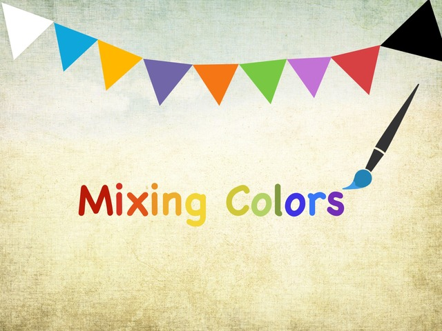 Mixing Colors by Gila Matalon