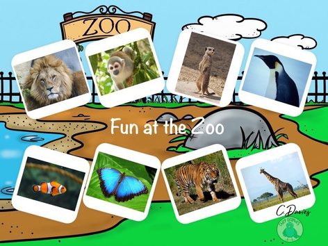 Fun At The Zoo by Catherine Davies