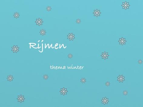 Rijmen by Nelleke Lürsen