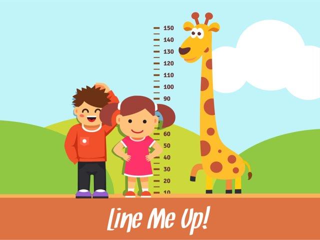 Line Me Up! by Ascension Kindergarten