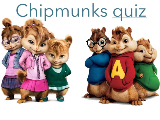 Chipmunks Quiz by Isabel Evans
