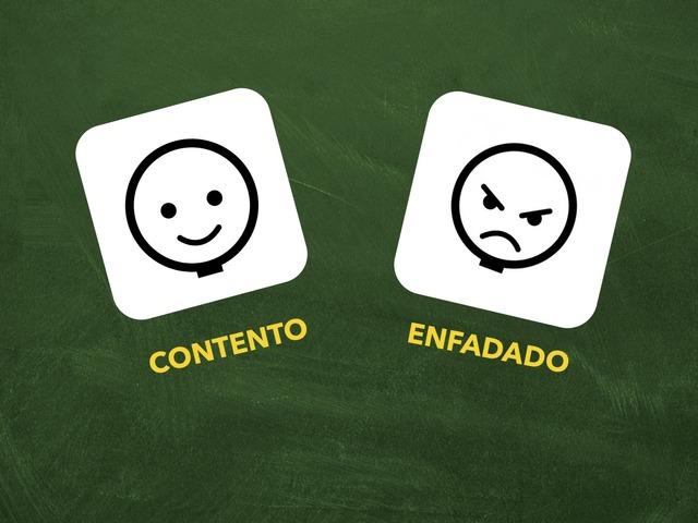 Contento O Enfadado by Francisca Sánchez Martínez