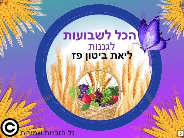 חג השבועות לגננות ומורים by Liat Bitton-paz