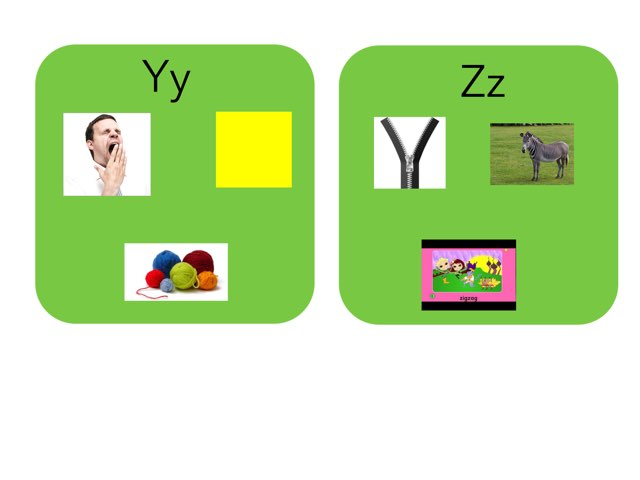 Beginning Sounds Y And Z by Catrina Froehler