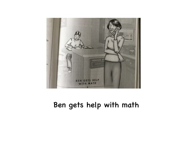 Ben Gets Help With Math by Rebecca Jarvis