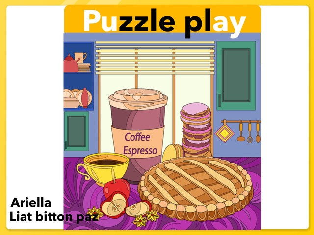 Puzzle Play 2 by Liat Bitton-paz