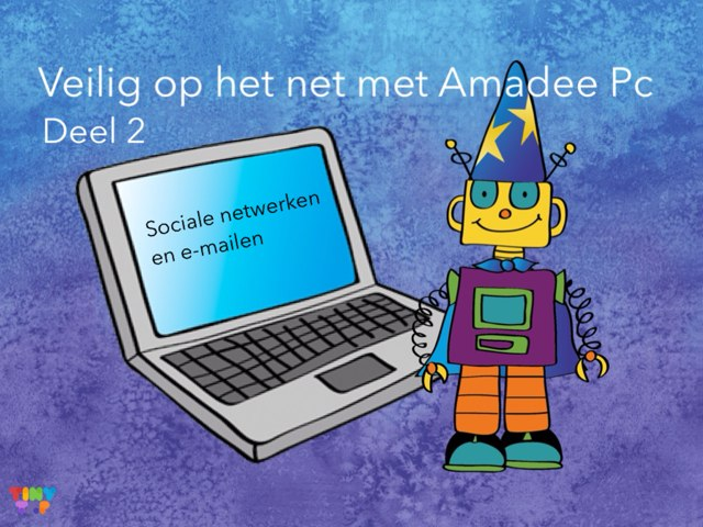 DEEL 2: Veilig Op Het Net - Sociale netwerken en e-mailen by Ina van Utrecht