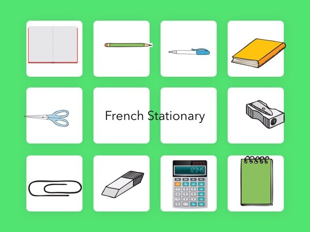 French Stationary by Cheese On toast