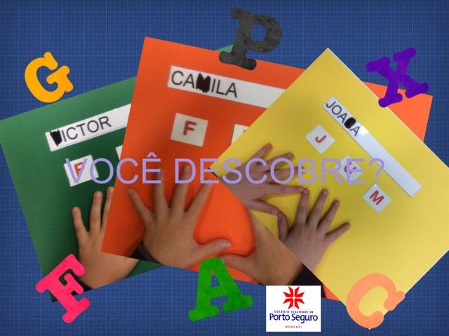 DESAFIO DAS LETRAS by MÔNICA RICCA