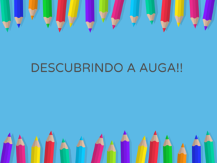 DESCUBRINDO A AUGA!! by Alicia LP