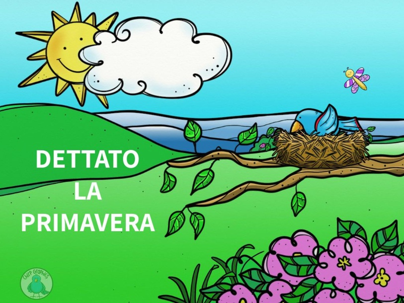 DETTATO LA PRIMAVERA by Primaria Interattiva